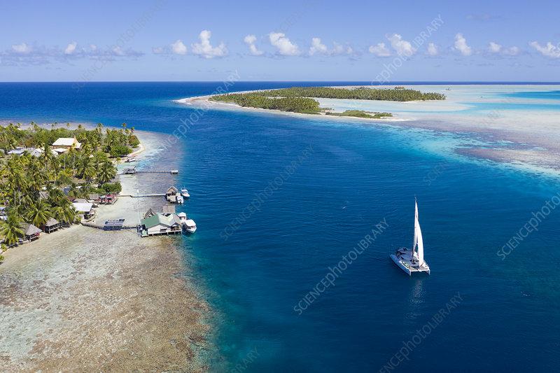 Tetamanu Pass, Fakarava Atoll, French Polynesia