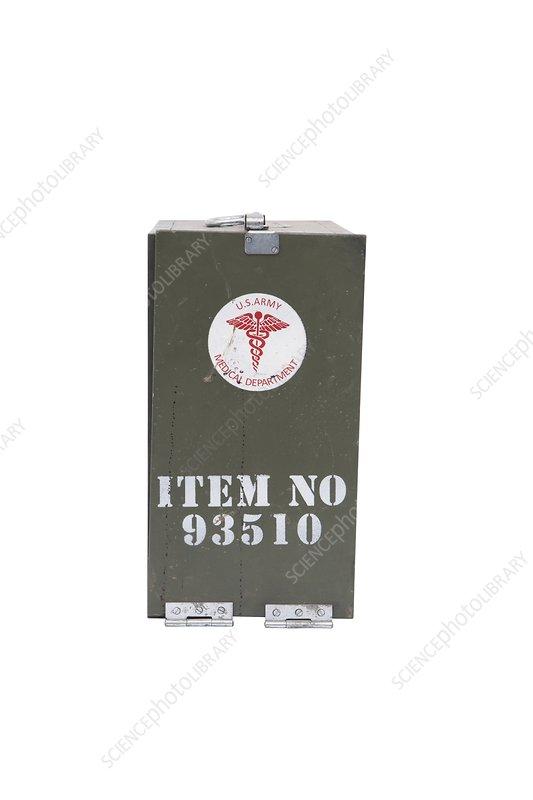 US military medical kit, 1940s