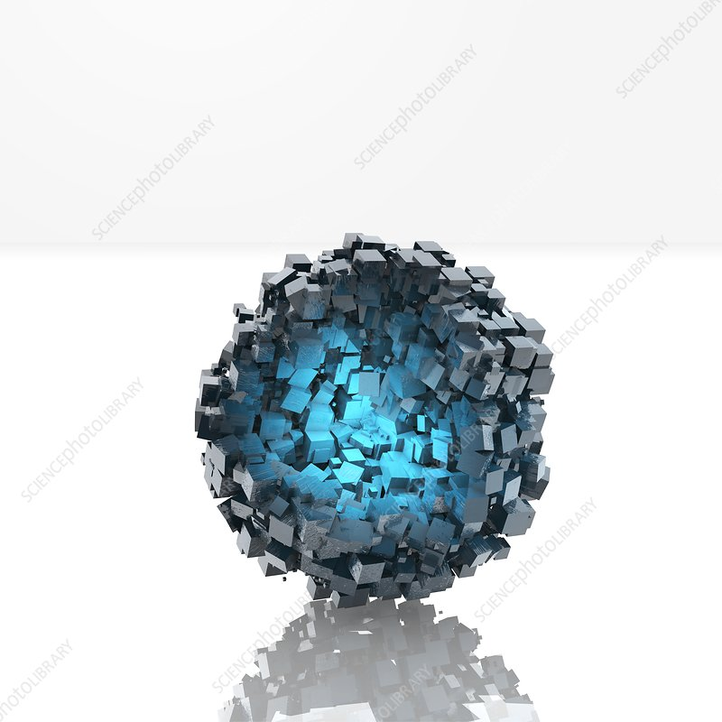 Metal-organic framework, illustration