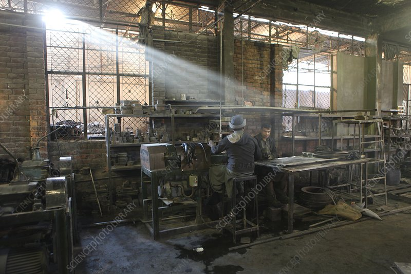 Rubber and pipe factory, Pakistan