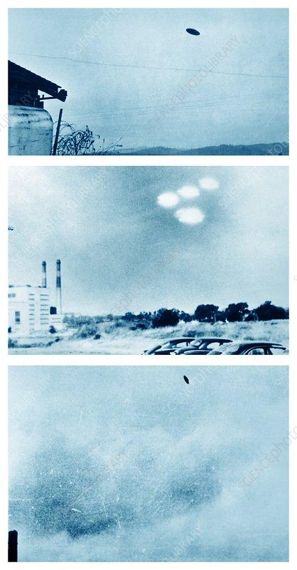 UFO sightings, 1950s