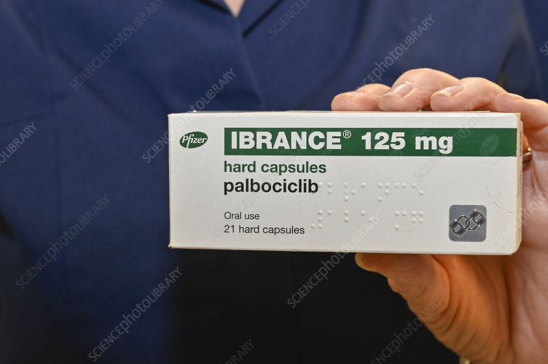 Palbociclib breast cancer drug