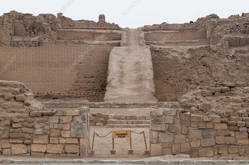 Pachacamac archaeological site, Peru