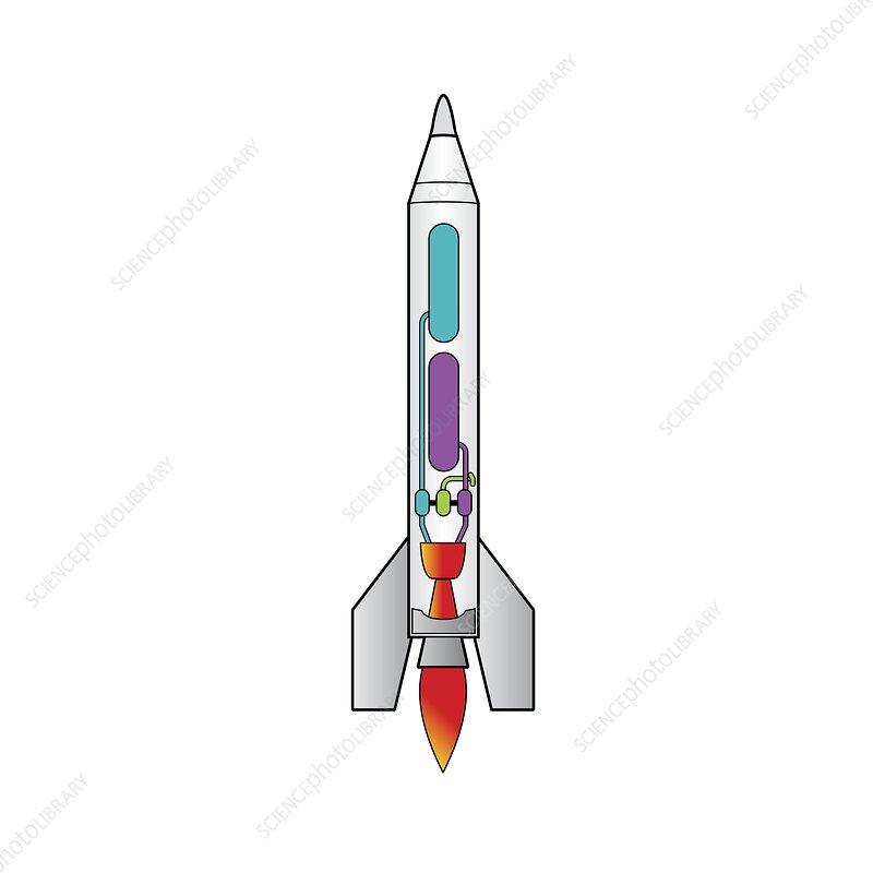 Rocket, illustration