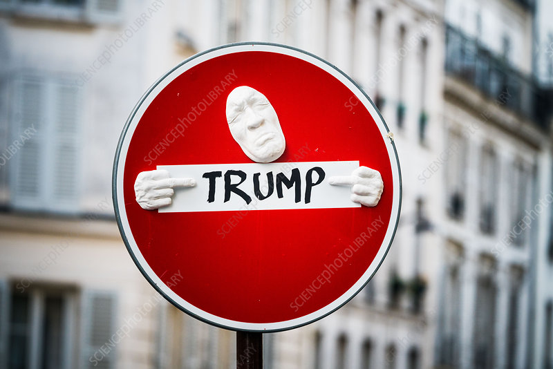 Anti-Trump demonstration