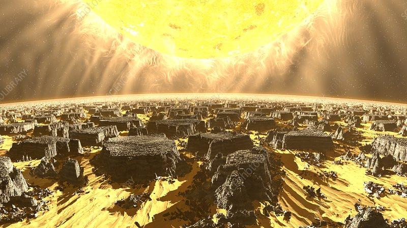 Exoplanet, illustration