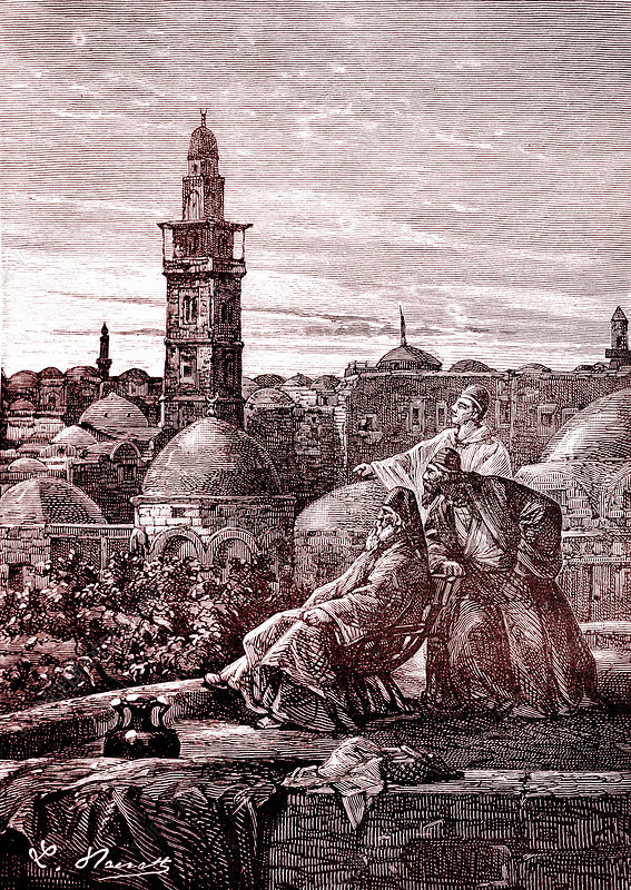 19th Century Jerusalem, illustration