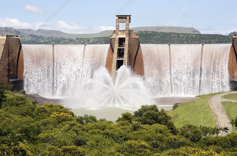 Wagendrift Dam, South Africa