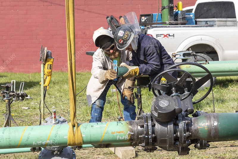 Replacement of ageing natural gas pipes
