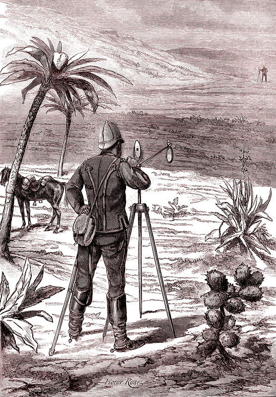 British heliographer, 19th century illustration