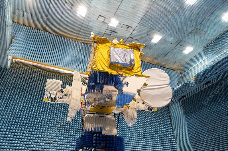 Eutelsat Quantum satellite undergoing testing