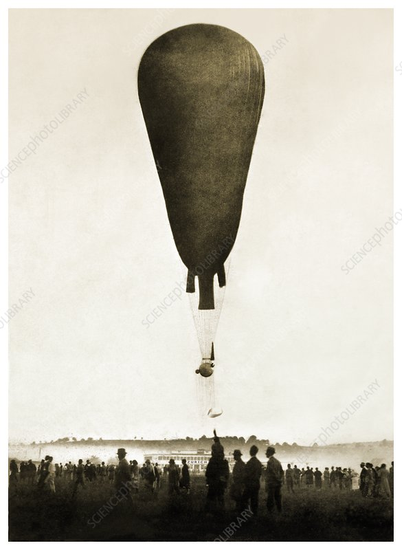 August Piccard balloon ascent, 1932