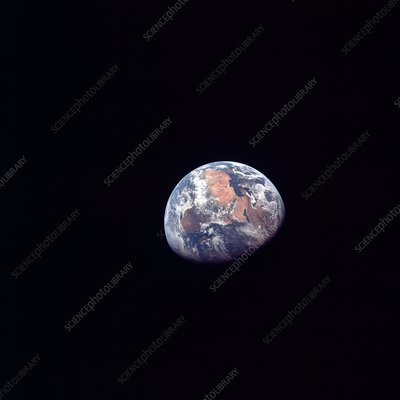 Apollo 11 photo of Earth
