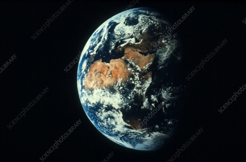 Apollo 11 image of the Earth