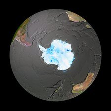 Southern Hemisphere, GeoSphere and bathymetry