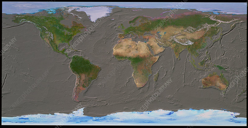 Whole earth & seabed