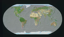 GeoSphere map of ocean floor