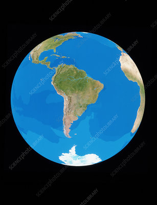 The whole Earth (South America)