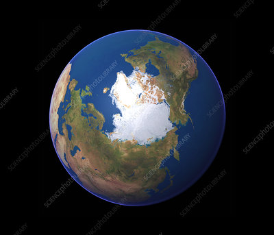 Earth's northern hemisphere