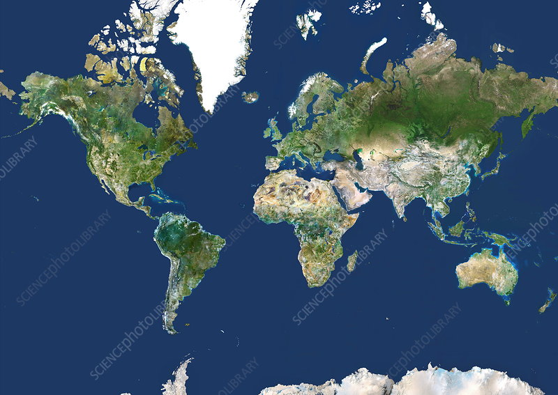 Whole Earth map