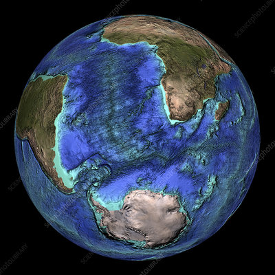 Earth's topography