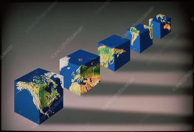Earth in cubes