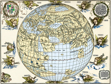 Durer's world map, 1515