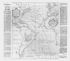 Halley's magnetic Atlantic chart, 1700