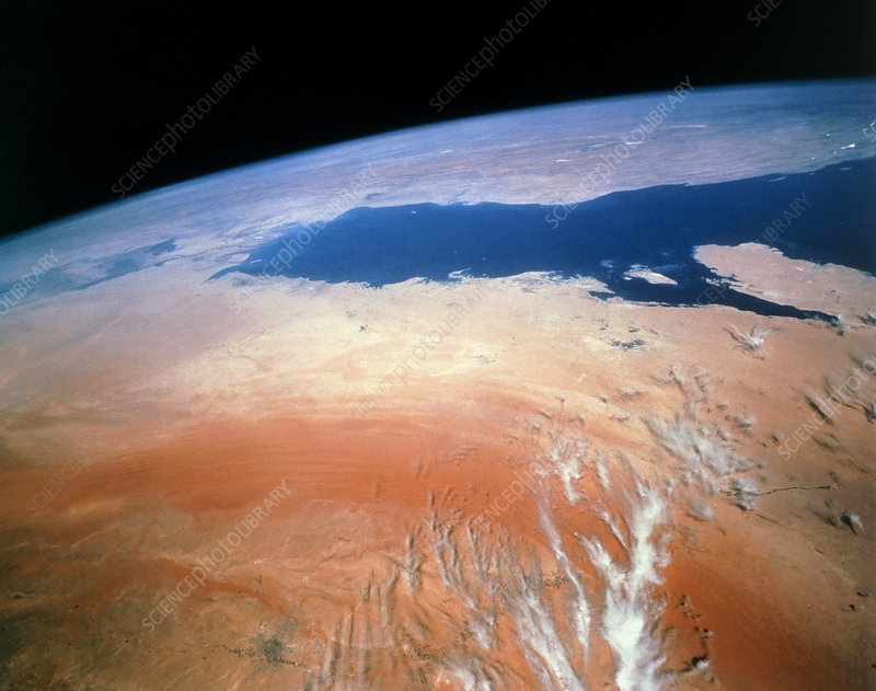 Saudi Arabia and the Persian Gulf, Shuttle STS-52