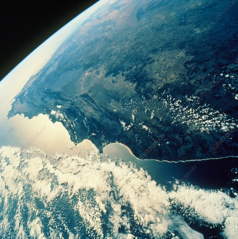 Southern coast of Africa seen from Shuttle STS-58