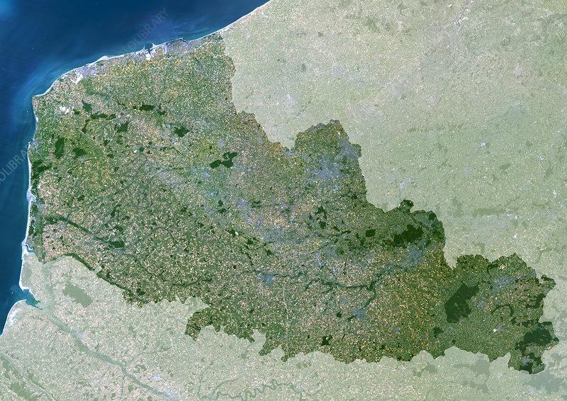 Nord-Pas de Calais region, France