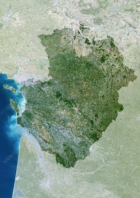 Poitou-Charentes region, France