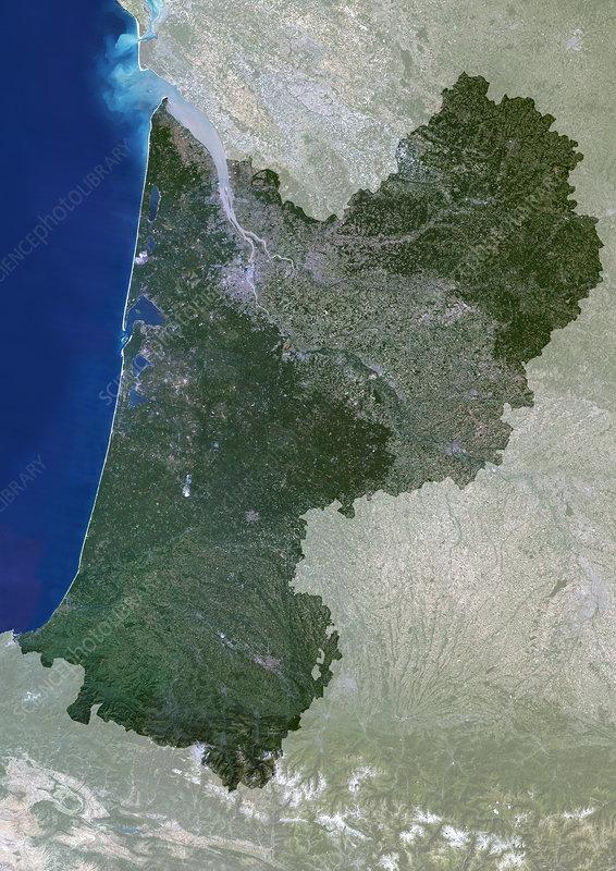 Aquitaine region, France
