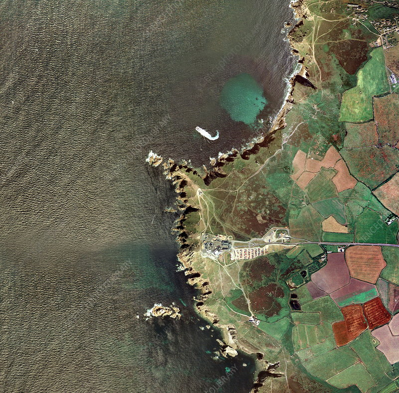 Land's End, UK, aerial image