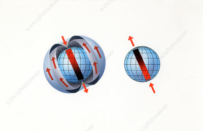 Magnetic field reversal