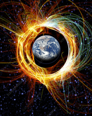 Earth's magnetic field protection
