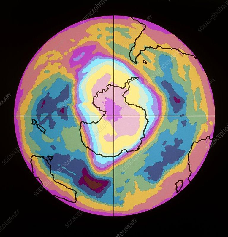 Satellite map of Antarctic ozone hole, 5/10/89 - Stock Image ... on blank map of antarctica, weather of antarctica, topographic map of antarctica, precipitation of antarctica, political map of antarctica, water map of antarctica, how big is antarctica, satellite view of antarctica, google earth antarctica, city of antarctica, temperature of antarctica, virtual tour of antarctica, world map of antarctica, brown map of antarctica, sports of antarctica, large map antarctica, street view of antarctica, detailed map of antarctica, village of antarctica, outline map of antarctica,