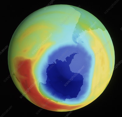 Antarctic ozone depletion