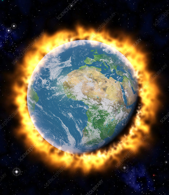 Media Global Warming: Science Photo Library