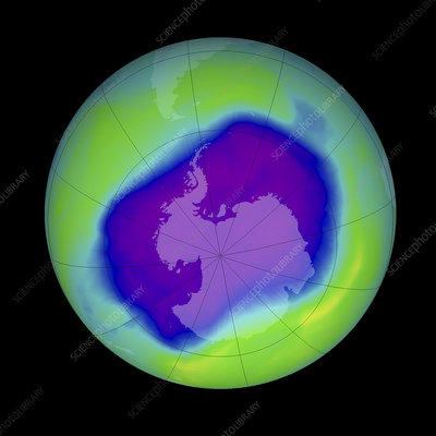 Antarctic ozone hole, 2006
