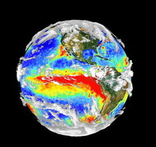 Earth's 3-D cloud cover