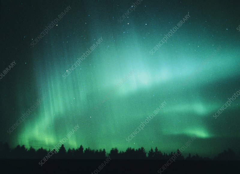 Aurora Borealis (Northern Lights) seen in Finland