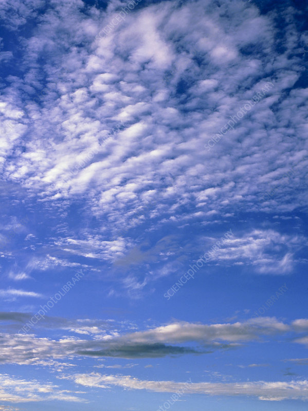 Cirrocumulus and Stratocumulus clouds