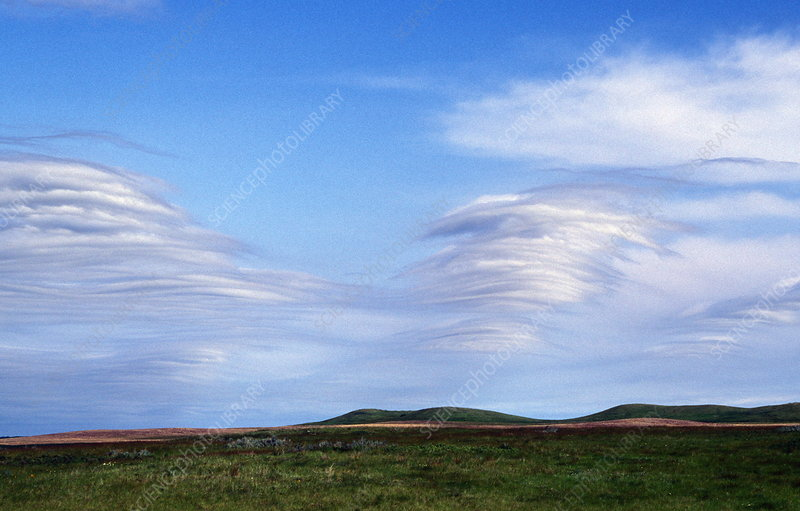 Gravity wave clouds
