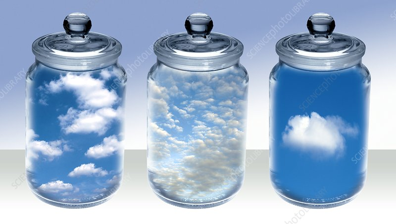 Atmospheric research,conceptual image