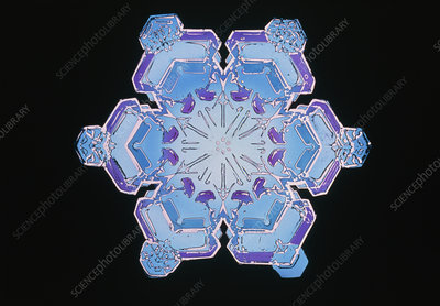 Replica of a snowflake