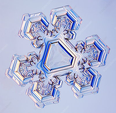 Triangular snowflake