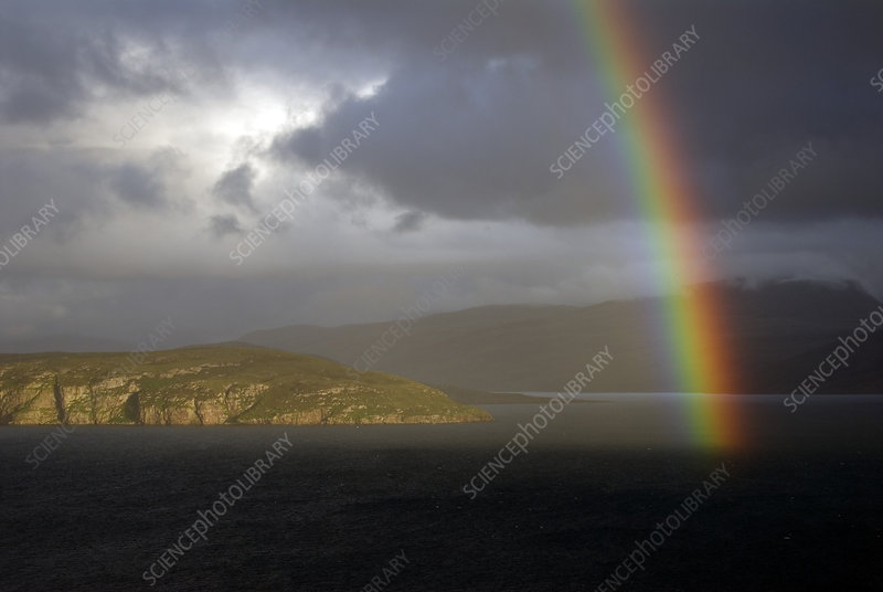 Rainbow over Loch Broom