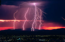 Lightning, New South Wales Australia