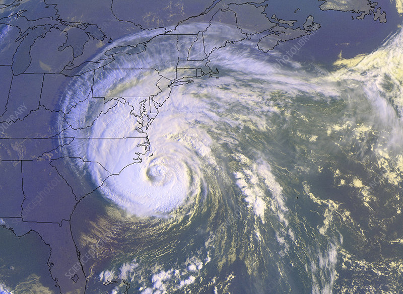Hurricane Isabel, 18/9/2003